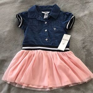Guess jean /Tulle dress